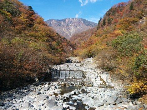 On the way to lake Chuzenji.